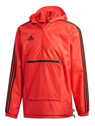 chaqueta de hombre para futbol adidas tan windbreaker