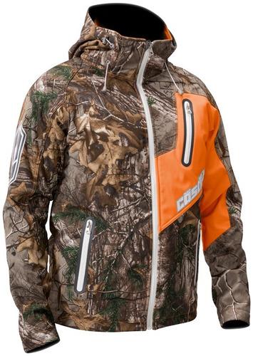 chaqueta de invierno castle x racewear barrier p/hombre lg