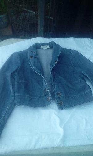 chaqueta de jeans mujer