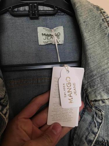 chaqueta de jeans  mujer marca mango nuevas cada una 25.000