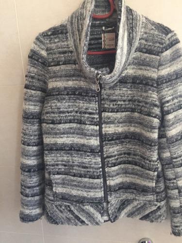 chaqueta de lana umbrale nueva