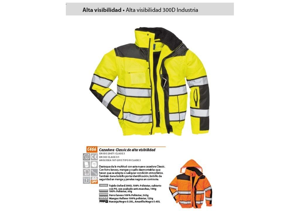 4d3cb1ff3af chaqueta de lluvia visión de alta visibilidad casaca c466. Cargando zoom.