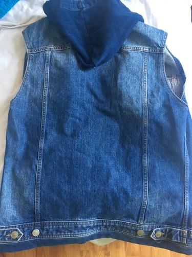 chaqueta de mezclilla zara