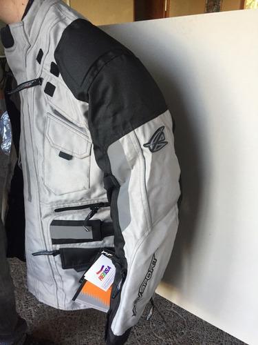 chaqueta de moto agvsport adventure modelo navigator