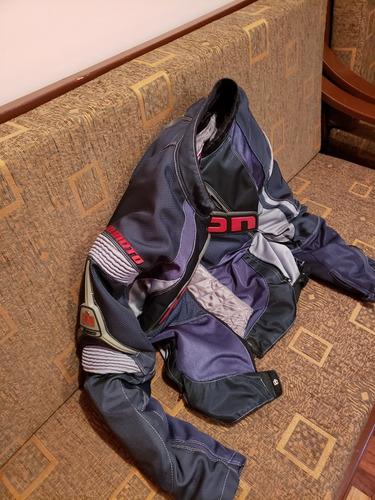 chaqueta de moto icon contra textil talla m