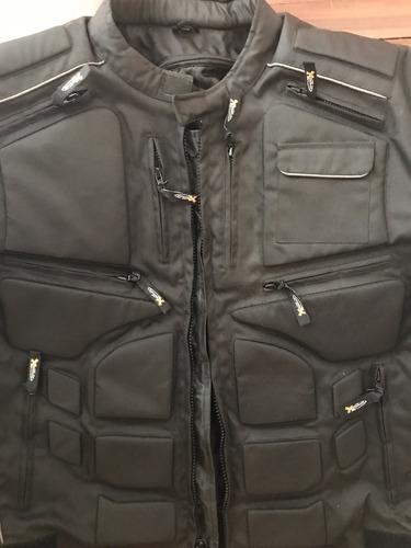 chaqueta de motorizado