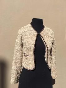 mejor servicio cbf70 4b5cf Chaqueta De Niña Estilo Chanel De Zara Kids Original