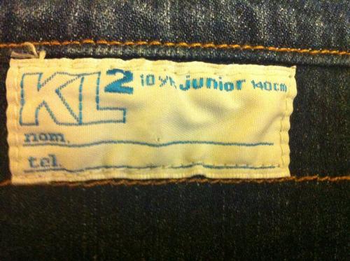 chaqueta de niña mezclilla