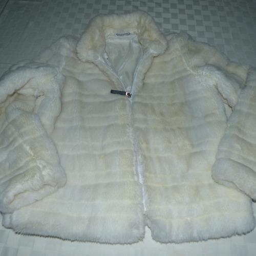 chaqueta de piel, peluda