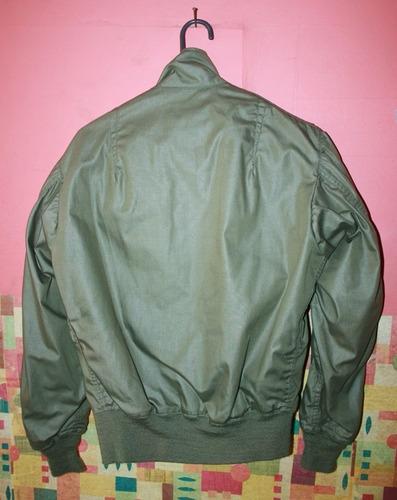 chaqueta de piloto bomber militar guerra de vietnam