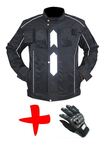 chaqueta de protección anti-fricción motociclista seguridad
