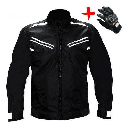 chaqueta de protección anti-fricción para motociclista