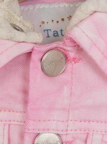 chaqueta denim niña tatienne girls tallas 4 -10 años