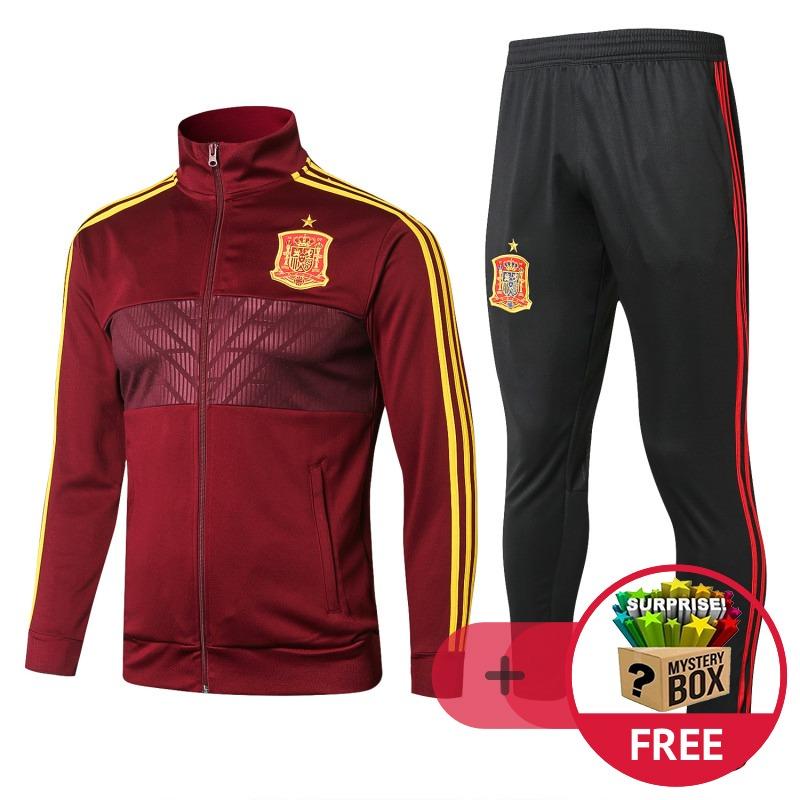 Ropa Invierno Española Deportiva Chaqueta Roja Otoño Adulto xqXY1wEF