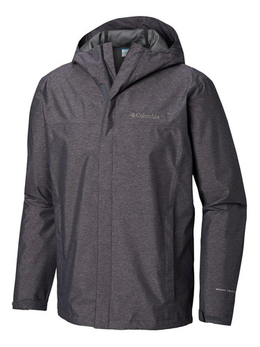 chaqueta diablo creek rain shell negro columbia