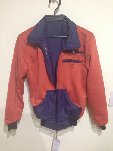 chaqueta doble faz mujer