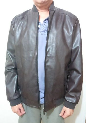chaqueta eco cuero