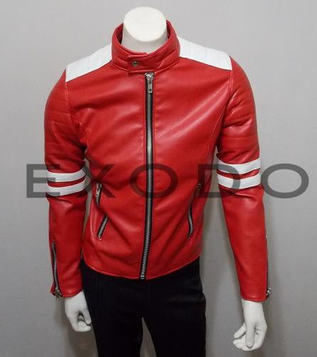 chaqueta eco-cuero ,club de la pelea, talla l, envió gratis