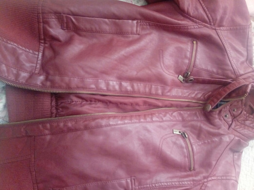 chaqueta ecocuero talla s index