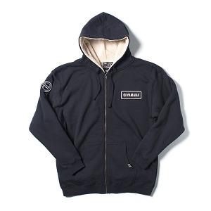 chaqueta factory effex sherpa yamaha p/hombre c/capucha l