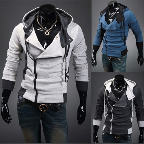 chaqueta fashion winter assassin's hoodies jacket hombre