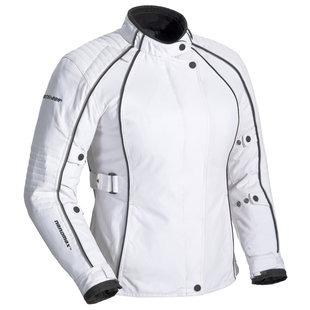 chaqueta fieldsheer lena 3.0 p/mujer blanco/negro sm plus