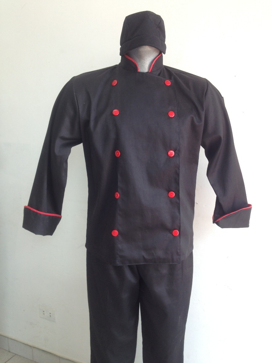 Chaqueta Filipina Para Chef edce7367cd6
