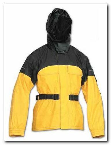 chaqueta firstgear rainman 2013 negra 3xl amarillo/