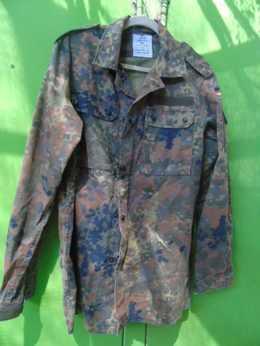 chaqueta flecktarn del ejército alemán bw