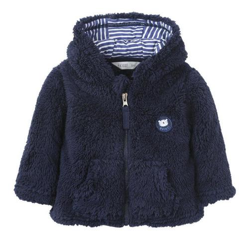 chaqueta fluffy recien nacido azul 4kids