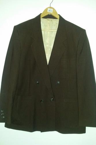 chaqueta flux marrón oscuro montecristo talla l 8$