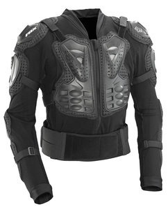 chaqueta fox racing titan deportiva negra xl