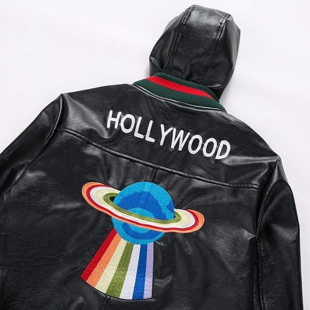 chaqueta gucci cuero capota hombre original edicion especial. Cargando zoom. afdb030a23e