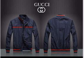 precios baratass hacer un pedido muy baratas Chaqueta Gucci Cuero Hombre Original Edicion Especial