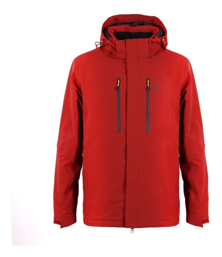 chaqueta hombre andes b-dry hoody rojo lippi