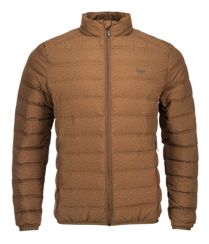 chaqueta hombre aspen down jacket melange mostaza lippi