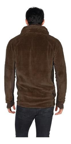 chaqueta hombre caluroso café oscuro lippi