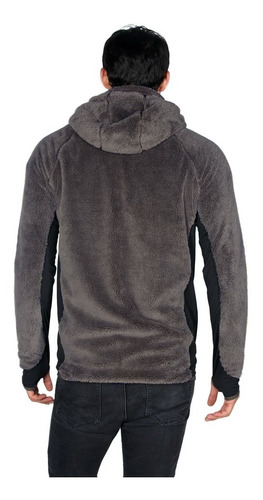 chaqueta hombre caluroso gris lippi