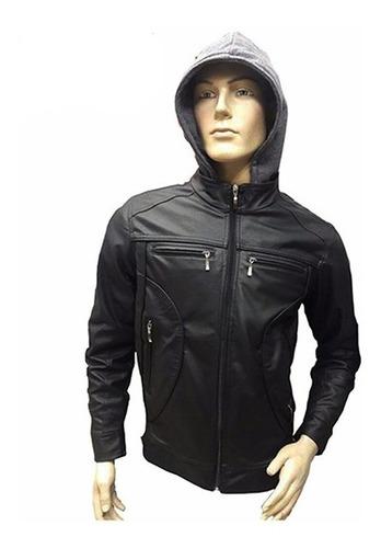 chaqueta hombre cuero sintetico  100% garantizada 30%off