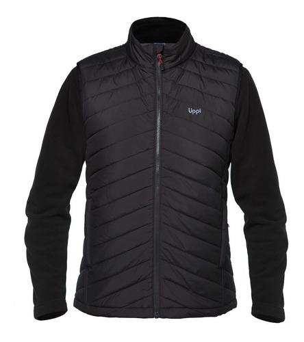 chaqueta hombre fusion-3 vest negro lippi