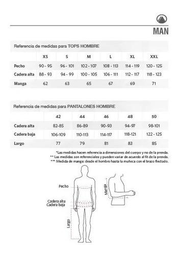 chaqueta hombre just go fusion-3 vest jacket rojo oscuro / m