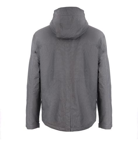chaqueta hombre linque b-dry hoody grafito lippi