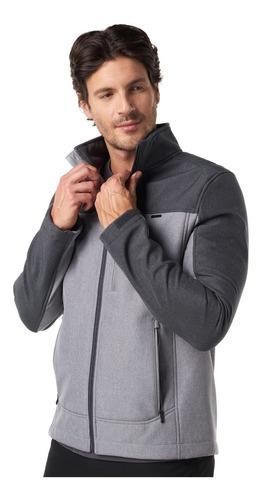 chaqueta hombre lippi blast softshell jacket gris i19