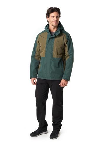 chaqueta hombre lippi tres cruces fusion-3 hoody jacket negr