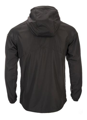 chaqueta hombre nutka windbreaker hoody jacket negro lippi
