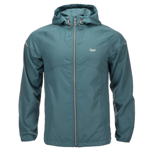 chaqueta hombre nutka windbreaker hoody jacket petróleo lipp