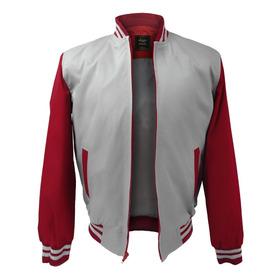 Chaqueta Hombre Sport Gris - Roja