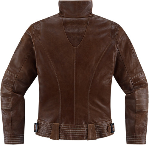 chaqueta icon 1000 fairlady para mujer brown xs