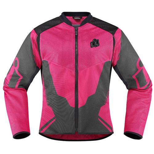 chaqueta icon anthem 2 para mujer rosa md