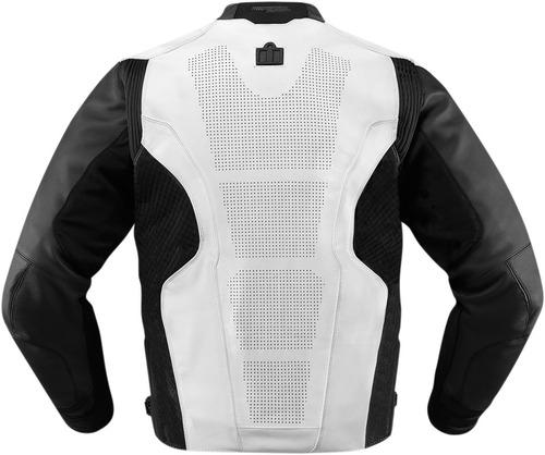 chaqueta icon hypersport blanca sm